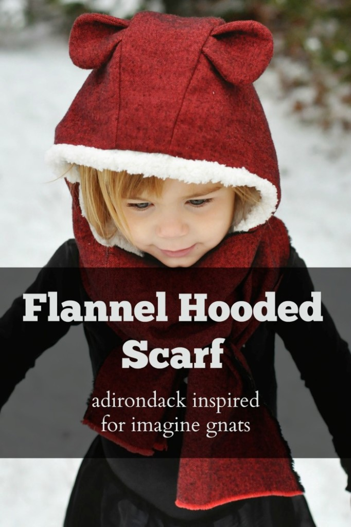 Hooded Scarf by Adirondack Inspired for Imagine Gnats (1)