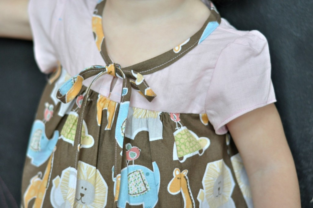 Sew Chic Kids Ribbon Tied Blouse by Adirondack Inspired
